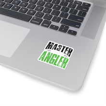 Load image into Gallery viewer, Michigan Master Angler Square Sticker - Green