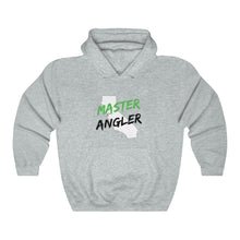 Load image into Gallery viewer, California Master Angler Unisex Heavy Blend™ Hooded Sweatshirt -  State Green