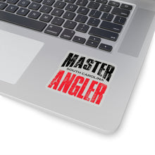 Load image into Gallery viewer, South Carolina Master Angler Sticker - RED