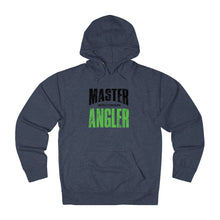 Load image into Gallery viewer, Wisconsin Master Angler Unisex Terry Hoodie Green Sq