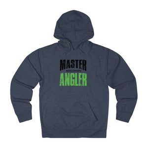 Wisconsin Master Angler Unisex Terry Hoodie Green Sq