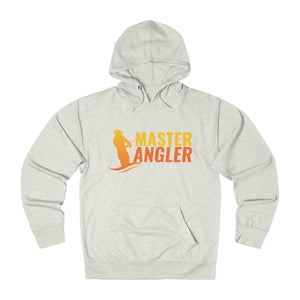 Master Angler Unisex Terry Hoodie Orange Logo