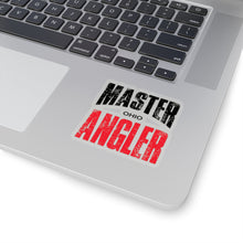 Load image into Gallery viewer, Ohio Master Angler Sticker - RED