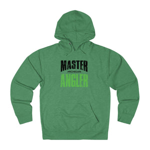 Michigan Master Angler Unisex Terry Hoodie Green Sq