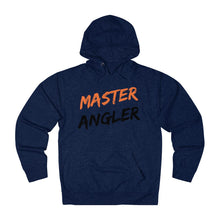 Load image into Gallery viewer, Master Angler Slash Unisex Terry Hoodie - Orange