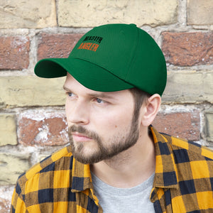 Illinois Master Angler Unisex Twill Hat - Orange Logo