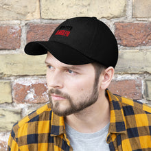 Load image into Gallery viewer, Wisconsin Master Angler Unisex Twill Hat - Red Logo