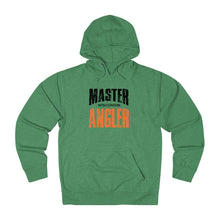 Load image into Gallery viewer, Wisconsin Master Angler Unisex Terry Hoodie Org Sq