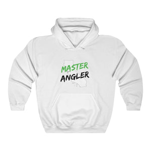 California Master Angler Unisex Heavy Blend™ Hooded Sweatshirt -  State Green
