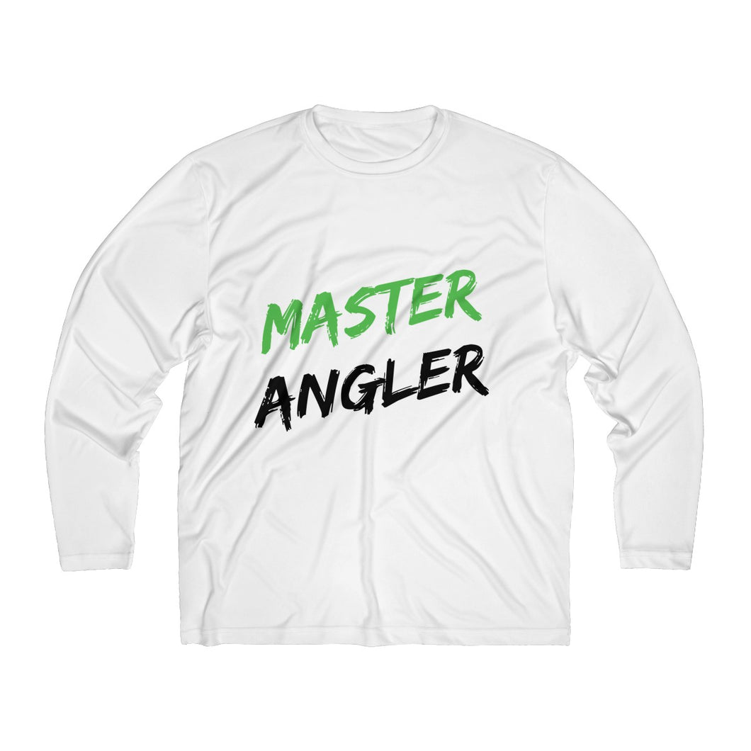 Master Angler Men's Long Sleeve Moisture Absorbing Tee - Green