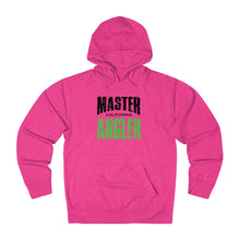 Load image into Gallery viewer, California Master Angler Unisex Terry Hoodie Green Sq
