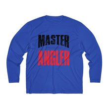 Load image into Gallery viewer, Michigan Master Angler Men's Long Sleeve Moisture Absorbing Tee - Red