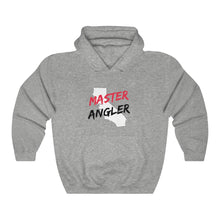 Load image into Gallery viewer, California Master Angler Unisex Heavy Blend™ Hooded Sweatshirt -  State Red
