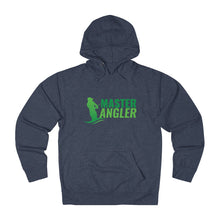 Load image into Gallery viewer, Master Angler Unisex Terry Hoodie Green Logo