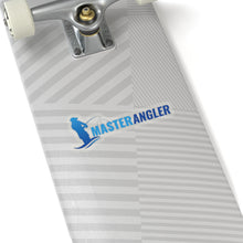 Load image into Gallery viewer, Master Angler Sticker Long - Blue