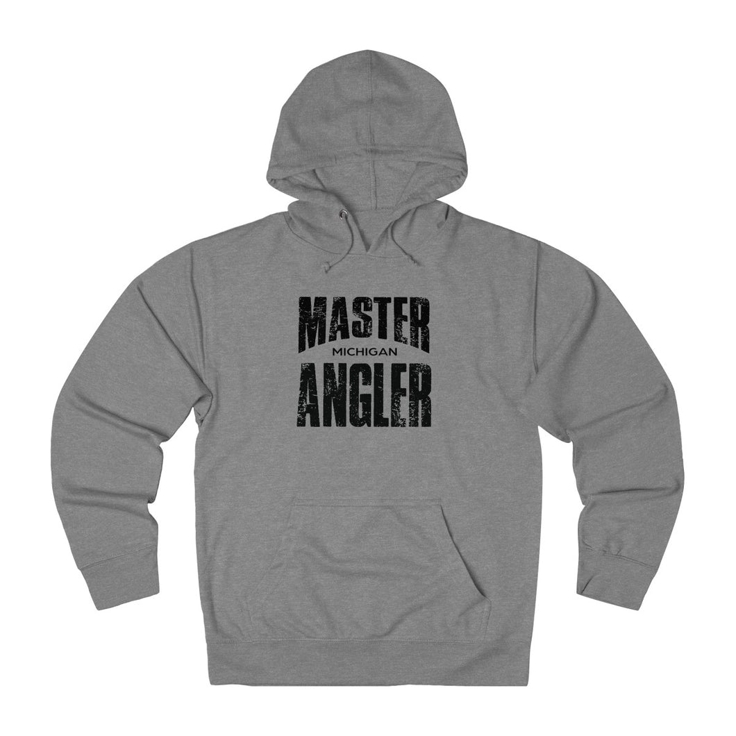 Michigan Master Angler Unisex Terry Hoodie Black Sq