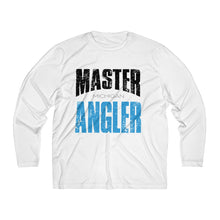 Load image into Gallery viewer, Michigan Master Angler Men's Long Sleeve Moisture Absorbing Tee - Blue