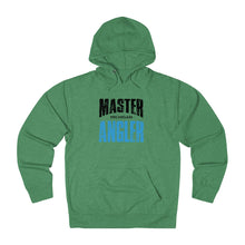 Load image into Gallery viewer, Michigan Master Angler Unisex Terry Hoodie Blue Sq