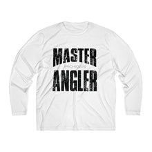 Load image into Gallery viewer, Michigan Master Angler Men's Long Sleeve Moisture Absorbing Tee - Black