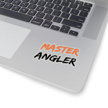 Load image into Gallery viewer, Master Angler Sticker - Square Orange