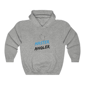 Wisconsin Master Angler Unisex Heavy Blend™ Hooded Sweatshirt -  State Blue
