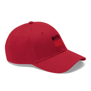 Illinois Master Angler Unisex Twill Hat - Red Logo