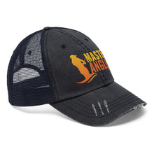 Load image into Gallery viewer, Master Angler Unisex Trucker Hat - Orange Logo