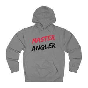 Master Angler Slash Unisex Terry Hoodie - Red