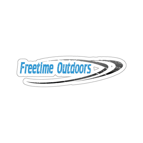Freetime Outdoors Stickers Blue & Black