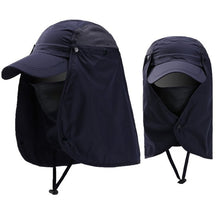 Load image into Gallery viewer, Unisex Visor Hats Fishing Sun Protector Cap UV Protection Face Neck Cover Sun Protection