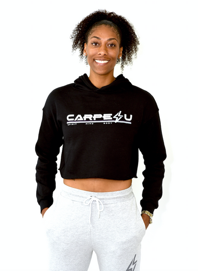 Carpe U Women's Signature Cropped Hoodie