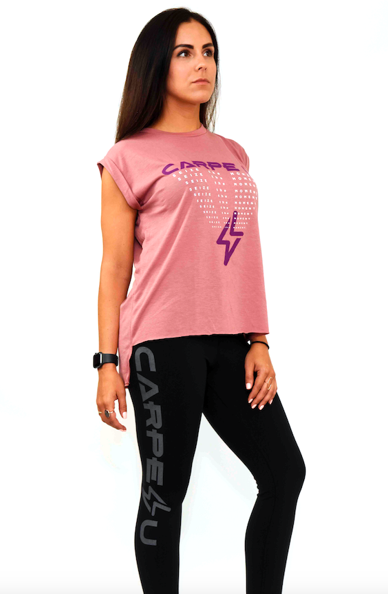 Carpe U Women's SEIZE THE MOMENT Recovery Tee