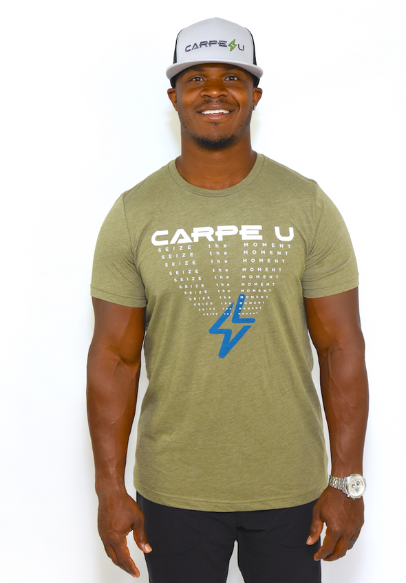 Carpe U Men's SEIZE the MOMENT Tee