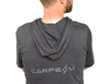 Carpe U Men's SPIRIT MIND BODY Short Sleeve Hoodie