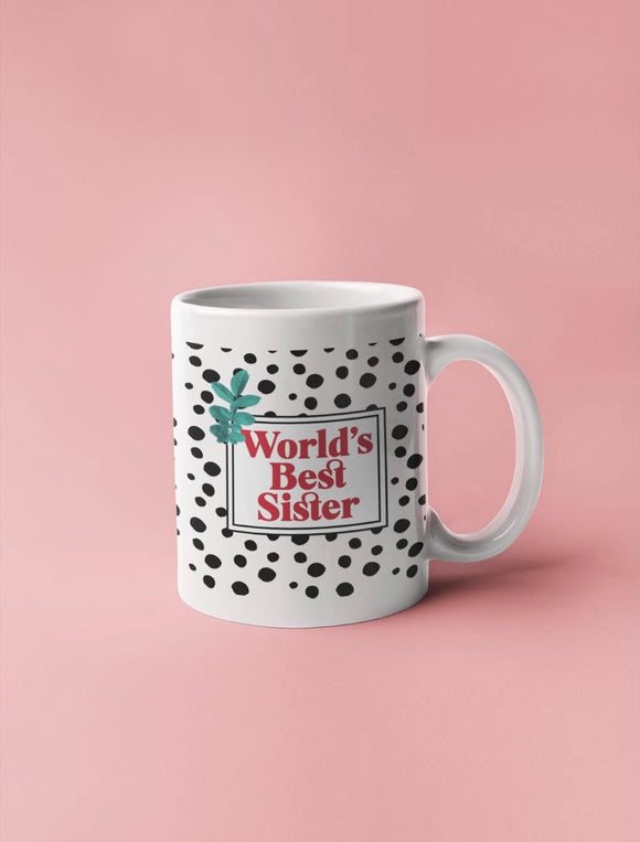 World's Best Sister Mug