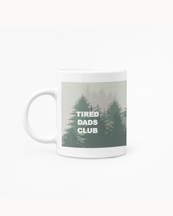 Tired Dad's Club Mug
