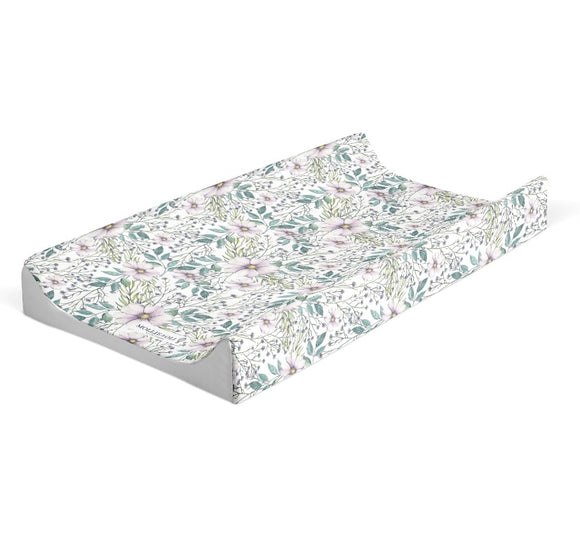 Boho Floral Design Changing Mat