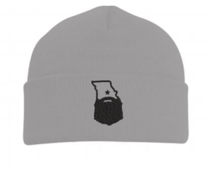 Bearded Missouri Knit Cuff Beanie (3 color options)