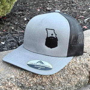Bearded Missouri Trucker Hat-Graphite/Black