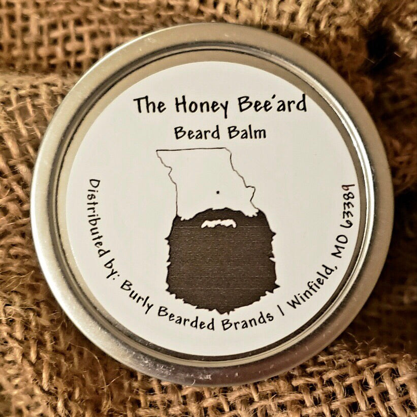 The Honey Bee'ard Beard Balm