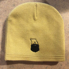 Load image into Gallery viewer, Bearded MO Knit Beanie (3 color options)