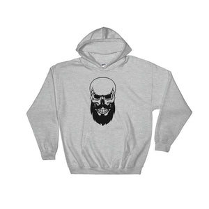 Bearded Skeleton Hooded Sweatshirt