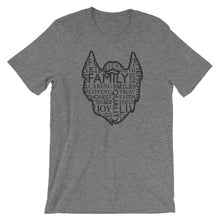 Load image into Gallery viewer, The Family Beard Collage Short Sleeve Unisex T-Shirt