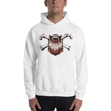 Load image into Gallery viewer, Bearded Halloween Hooded Sweatshirt