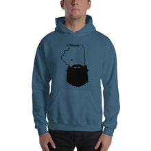 Load image into Gallery viewer, Bearded Illinois Hooded Sweatshirt