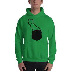 Bearded California Hooded Sweatshirt