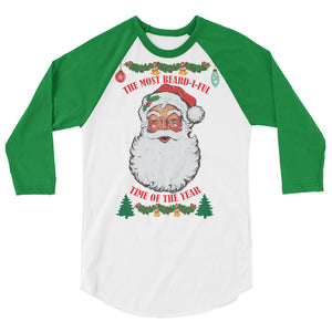 Ugly Christmas 3/4 Sleeve Raglan Shirt