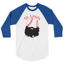 Load image into Gallery viewer, St. Louis Baseball 3/4 Sleeve Raglan Shirt