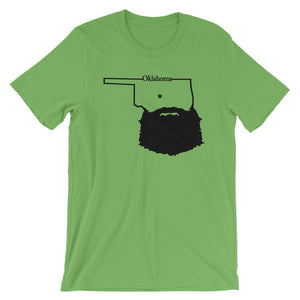 Bearded Oklahoma Short Sleeve Unisex T-Shirt