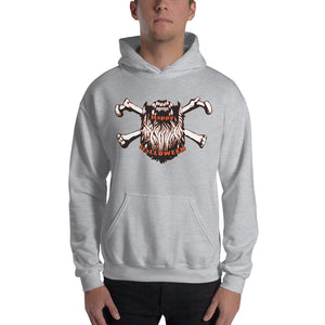 Bearded Halloween Hooded Sweatshirt